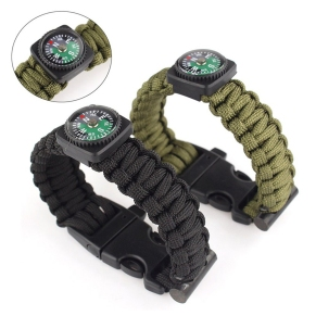 Multifunctional-Outdoor-Survival-font-b-Bracelet-b-font-Emergency-Rope-Flint-Fire-Starter-font-b-Compass