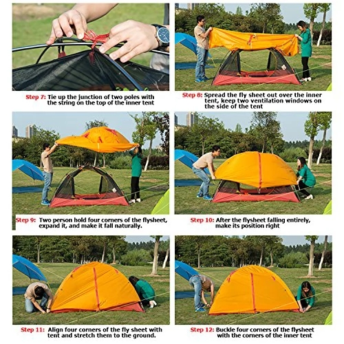 Weanas+Waterproof+Double+Layer+1+2+3+4+Person+3+Season+Backpacking+Tent+Aluminum+Rod+for+Outdoor+Family+Camping+Hunting+Fishing+Hiking+Travel