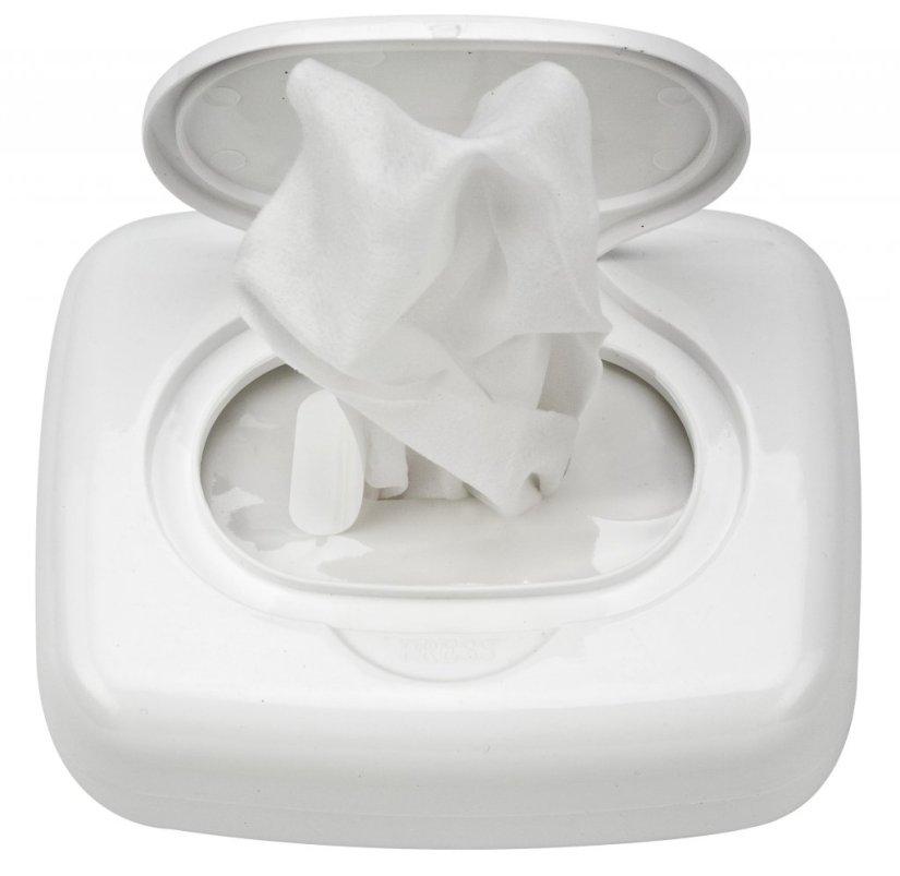 Wet wipe box